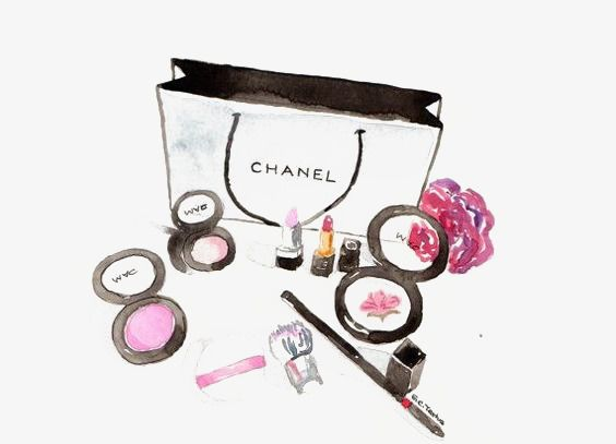 Chanel Makeup Chanel Art Beauty Illustration