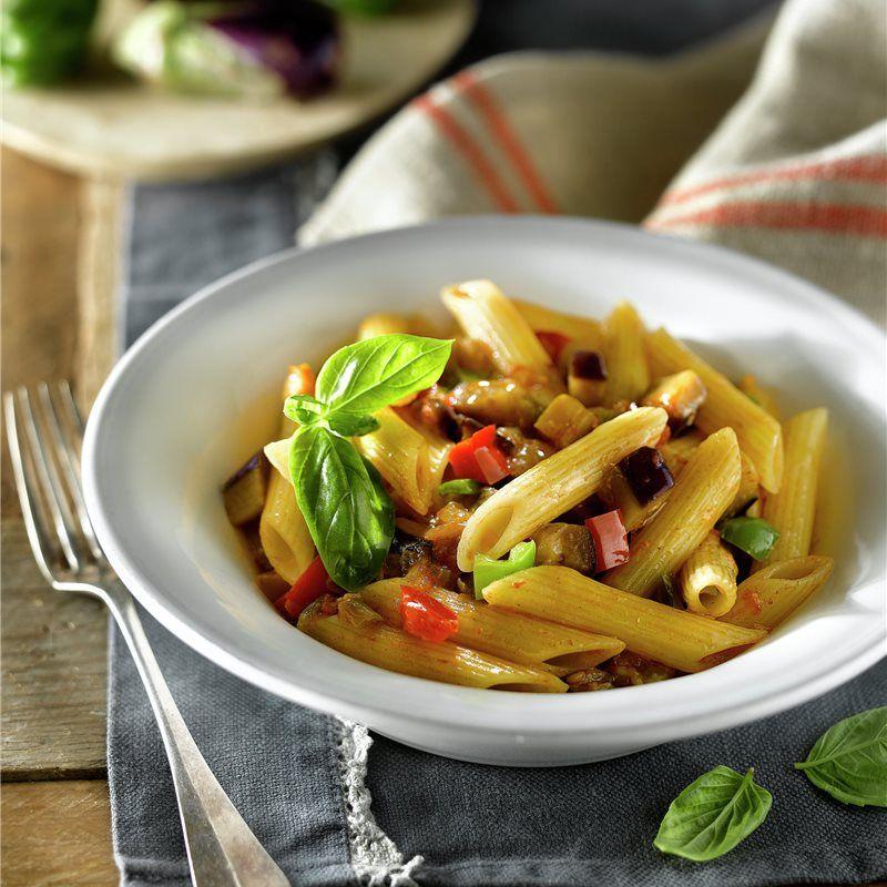 Macarrones Con Verduras Receta Macarrones Con Verduras Verduras Macarrones