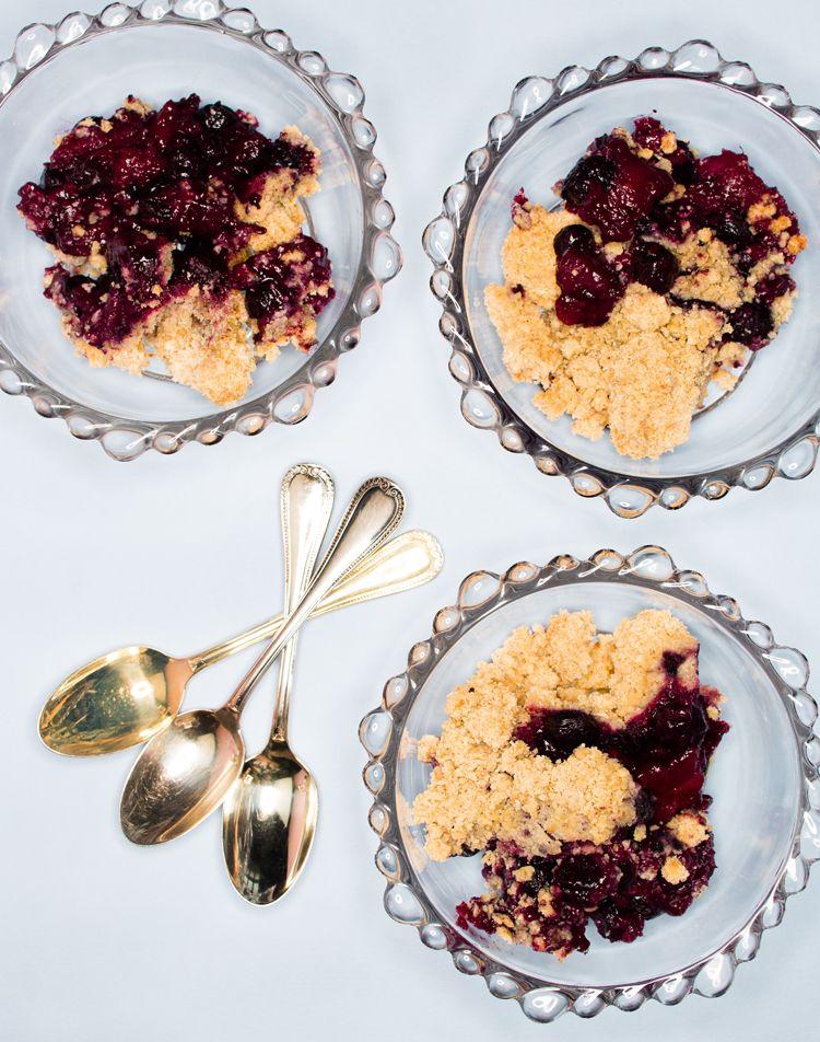 Blueberry cobbler from The Caker by Jordan Rondel