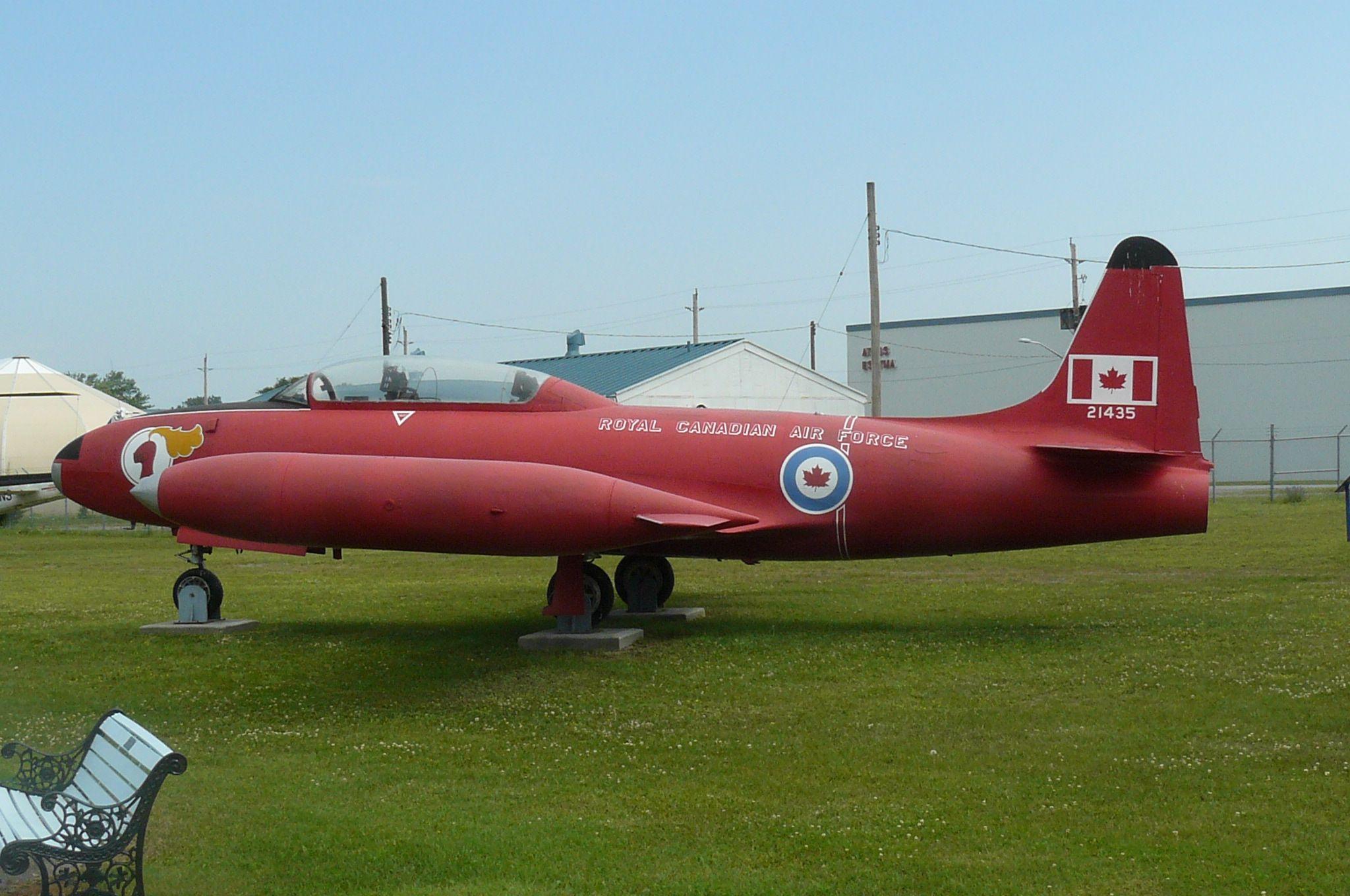 T 33 RCAF Trenton Museum (Ontario) Canadair