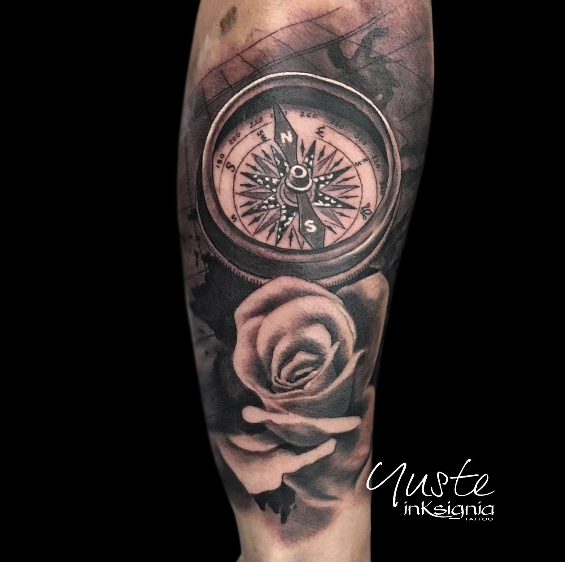 Tatuaje Brujula Y Rosa Tatuaje Brujula Tatuajes Tatuaje De Unas