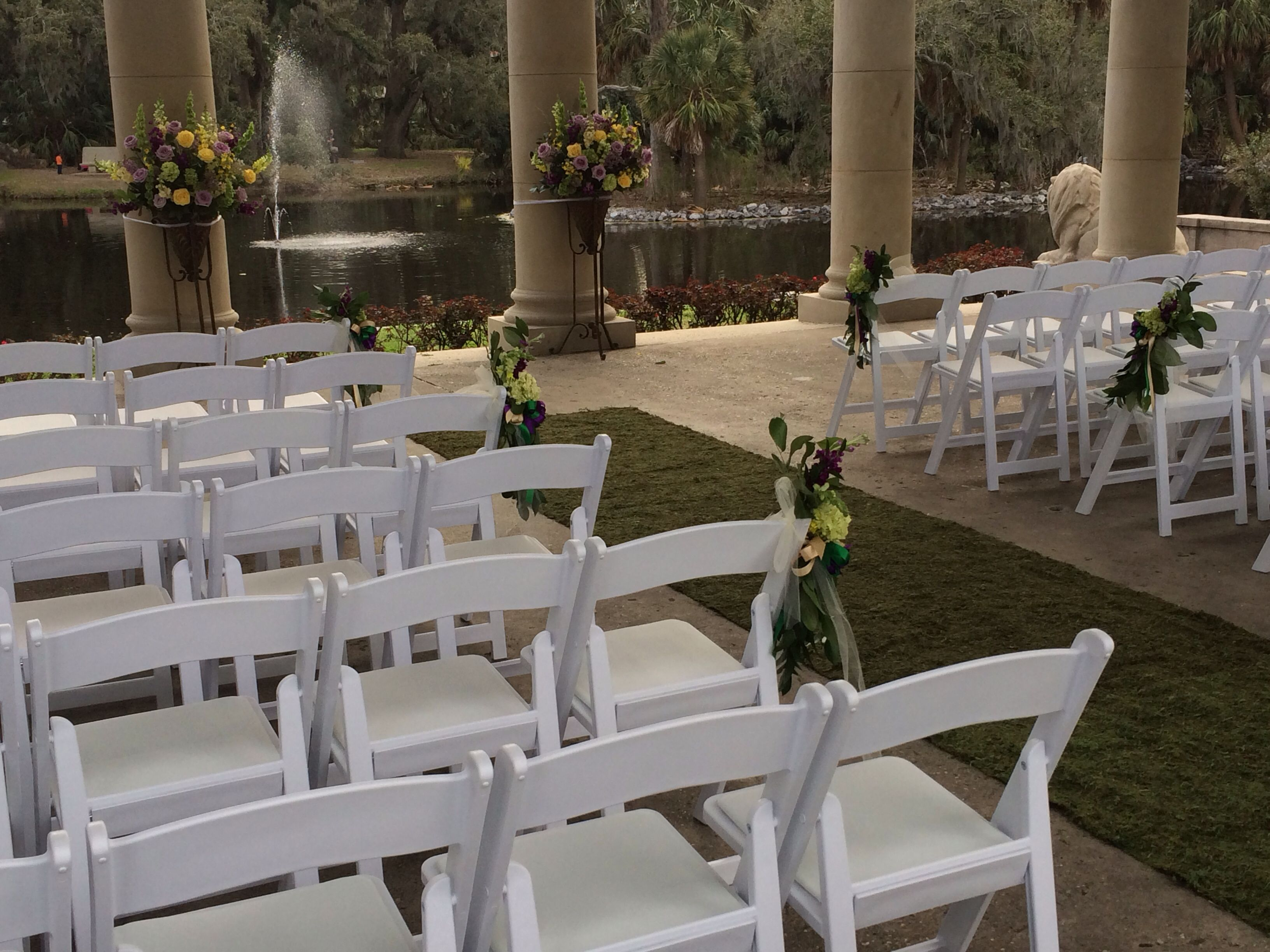 Wedding at the Peristyle in New Orleans City Park | Party Rentals ...