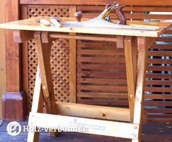 Mobile Schreiner-Werkbank – Mobile carpenter workbench – Mobile table de menuisier