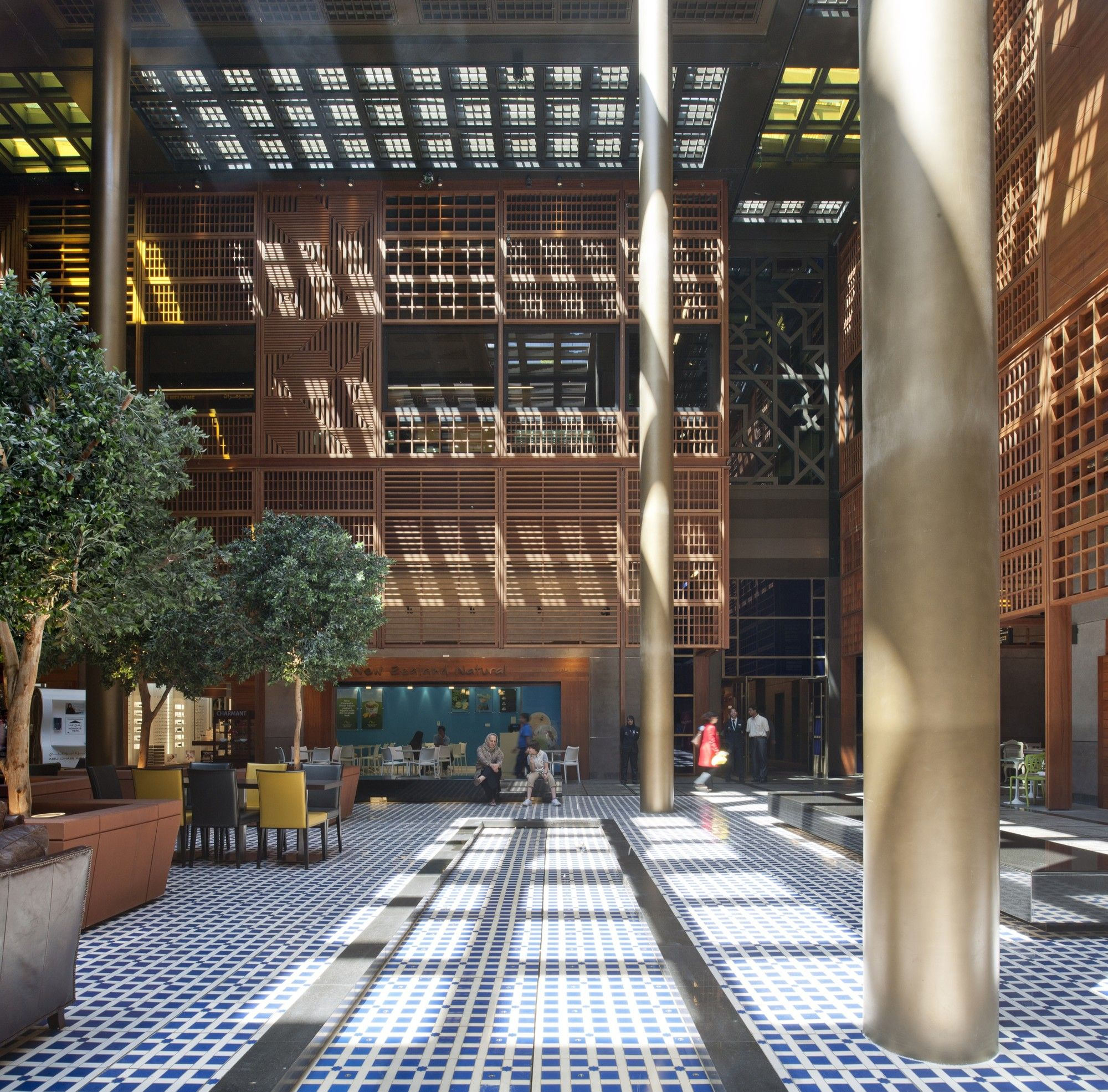 Gallery Of Abu Dhabi Central Market Foster Partners 15 Abu Dhabi The Fosters Foster Partners