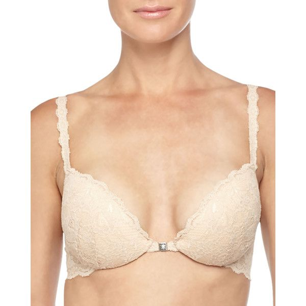 9deb4ae517f3c Cosabella Never Say Never Push-Up Lace Bra ( 56) ❤ liked on Polyvore