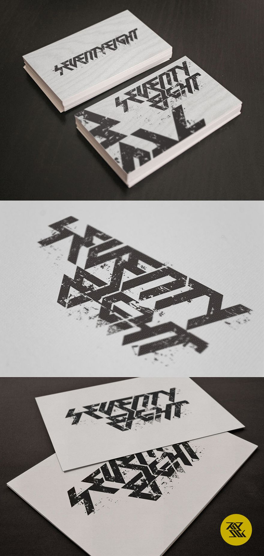 seventy-eight-business-card-grunge-rock-punk-style | FYP Mood ...