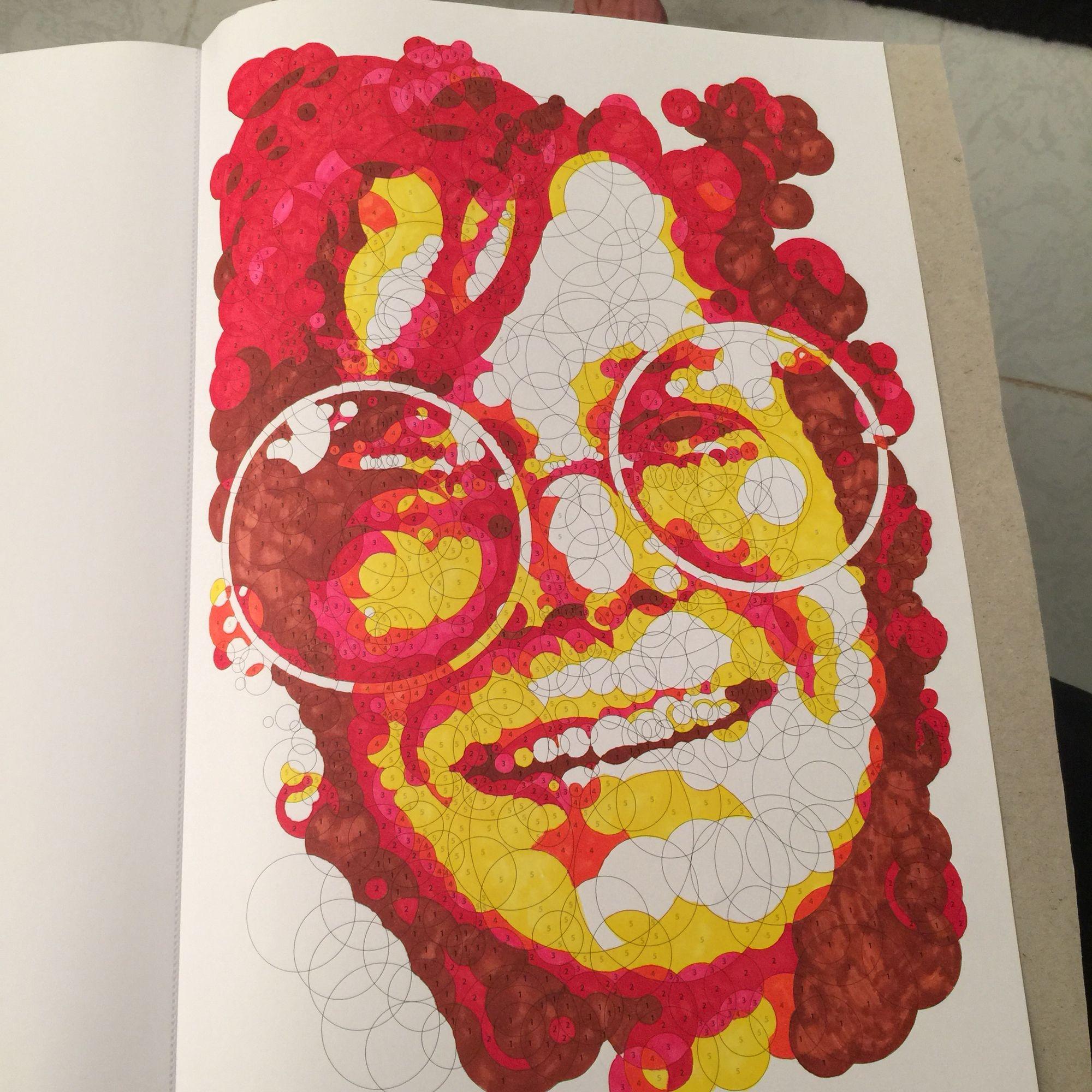 Querkle Art Coloring Books Types Of Art