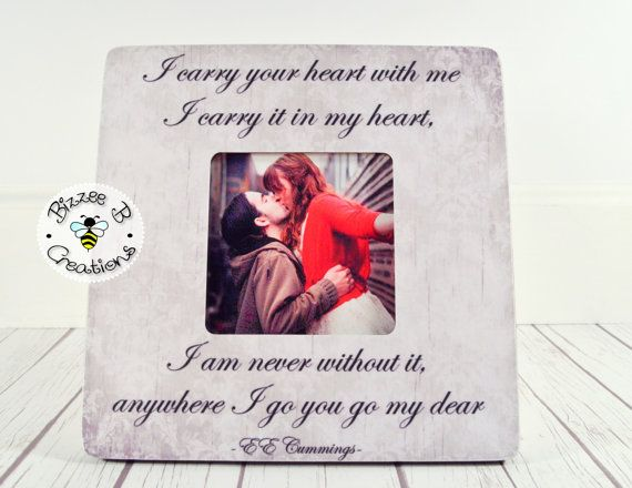 Picture Frame Gift for Significant Other by BizzeeBCreations ...