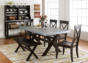Dining Room Furniture The Alicia Collection Alicia Table Leons Dining Table In Kitchen Trestle Dining Tables Dining Room Table
