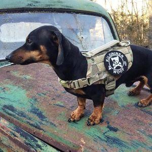 Kiloniner Compact K9 Tactical Molle Dog Vest Multicam Size
