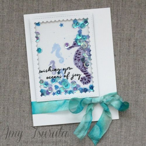 Shaking Things Up With Crafty Foam Tape Shaker Cards Tutorial