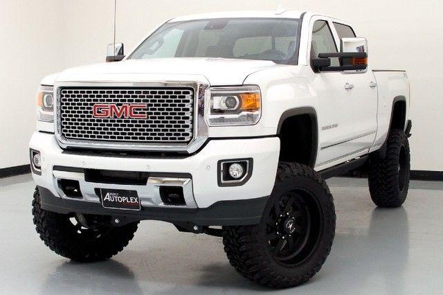 Denali Hd White Gmc Trucks Trucks Gmc Suv