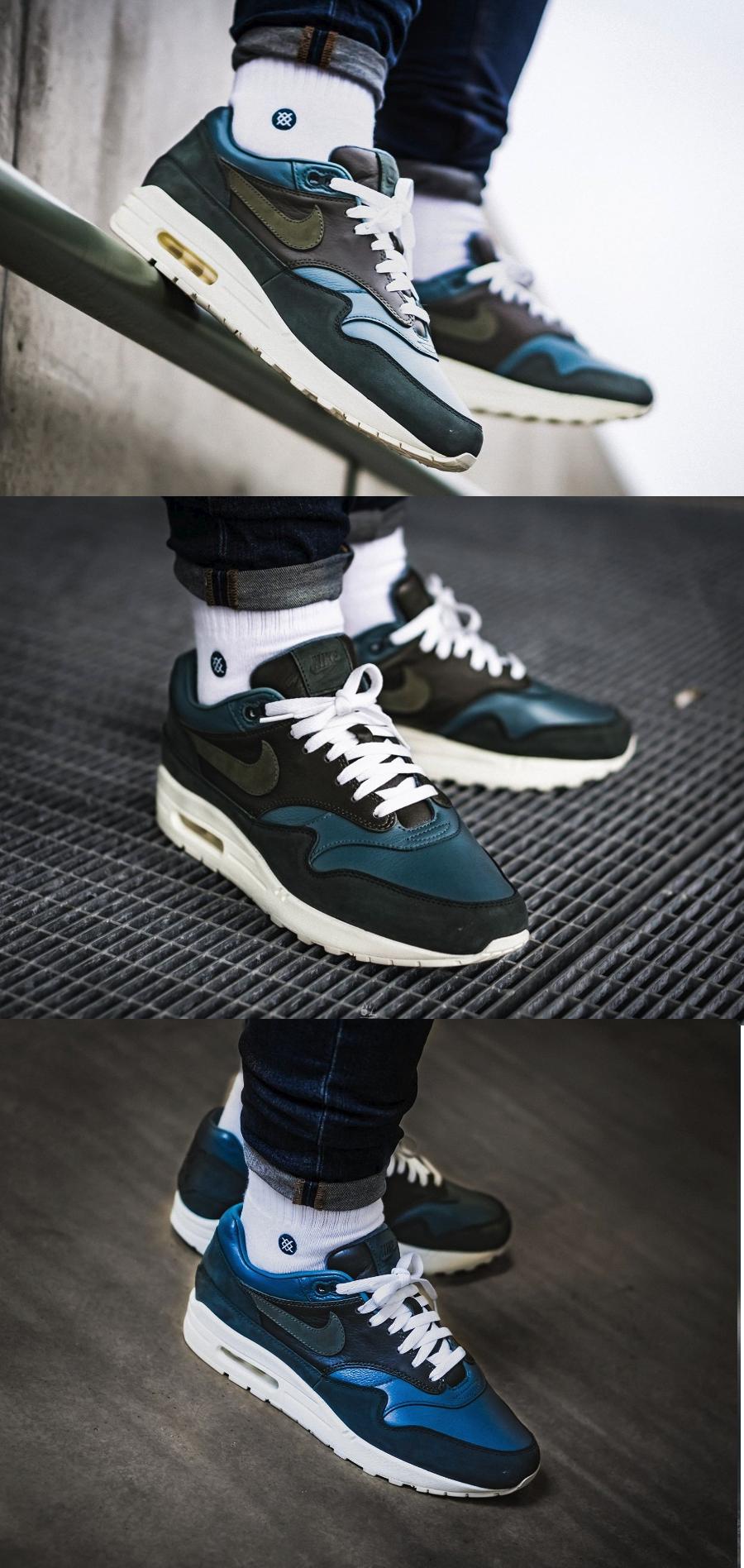 official photos 64554 da414 Nike #AirMax 1 Pinnacle #Iced #Jade | Turnschuhe | Sneakers nike ...
