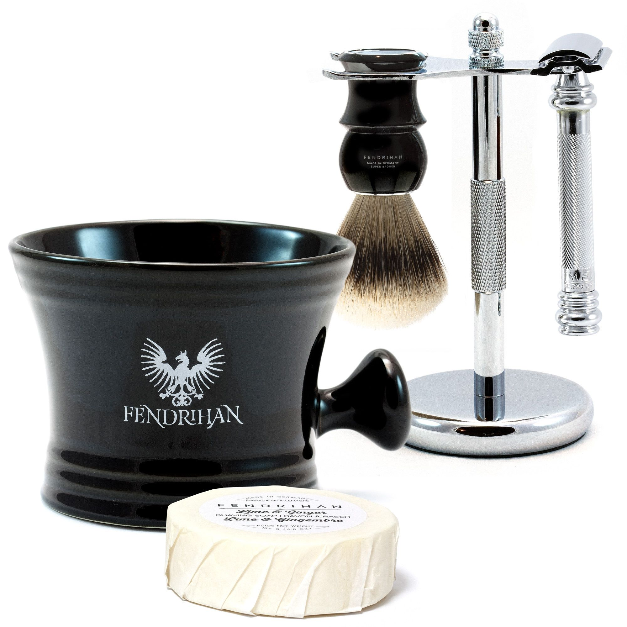 5piece wet shaving set with merkur 38c razor save 40
