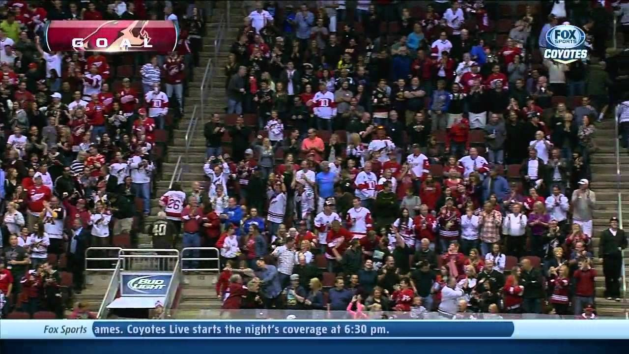 Mike Smith, Goaltender scores a goal Mike smith, Phoenix