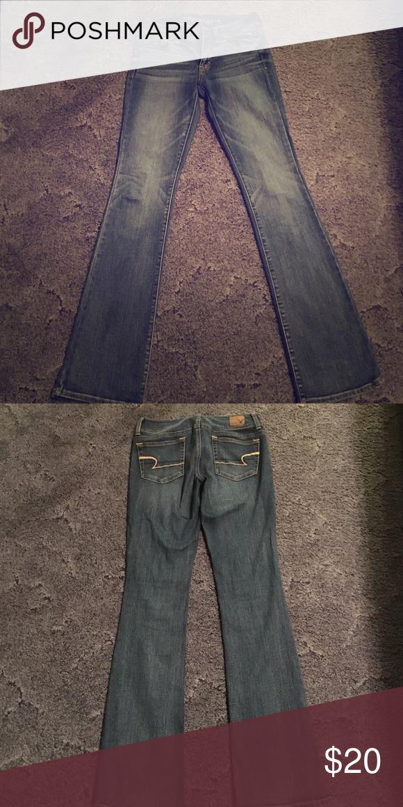 American Eagle jeans Medium wash American Eagle jeans!! Lightly worn!! American Eagle Outfitters Jeans Boot Cut