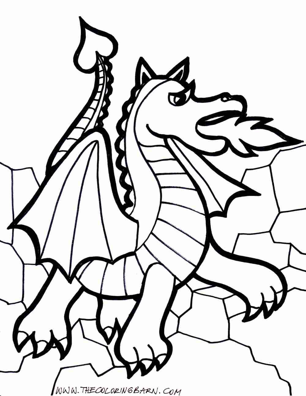 Ender Dragon Coloring Page Youngandtae Com Dragon Images Realistic Dragon Dragon Pictures