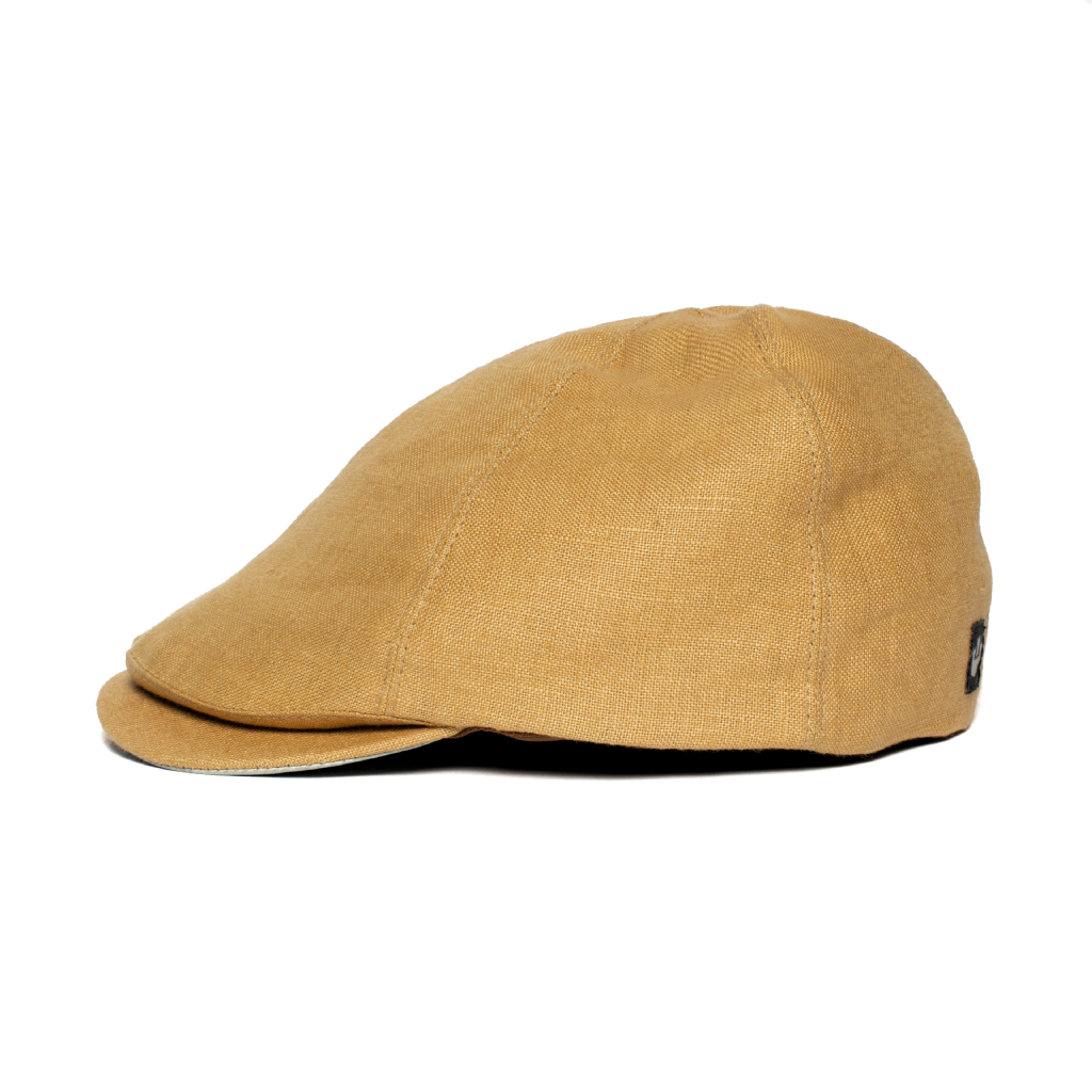 Lierys City Bic Linen Flat Cap Women//Men Made in Italy