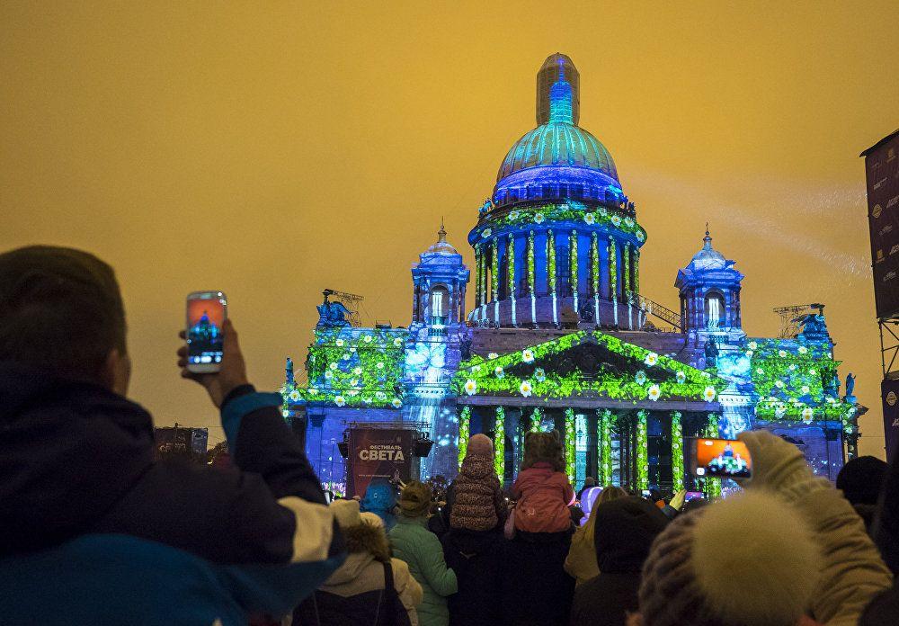 Festival svetlosti u Sankt Peterburgu