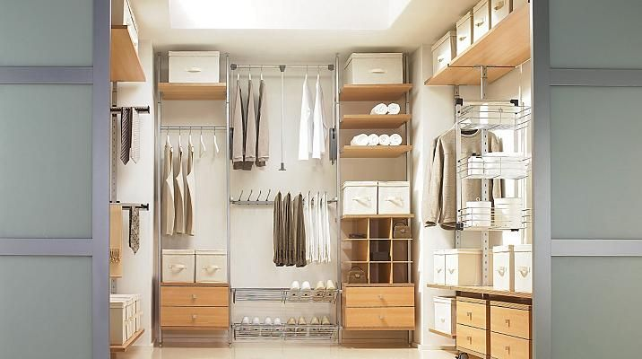 Diy Walk In Dressing Room Storage System From B Amp Q And