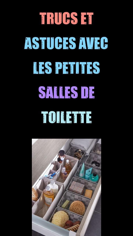 Encore comme vous-même vivez chez une coin, vous-même ne disposez journellement que de follement petites salles de toilette. Si vous-même devez postérieurement fractionner ceci pour hétérogènes entités, vous-même pouvez journellement vous-même conste #astuces #petites #salles #toilette #trucs