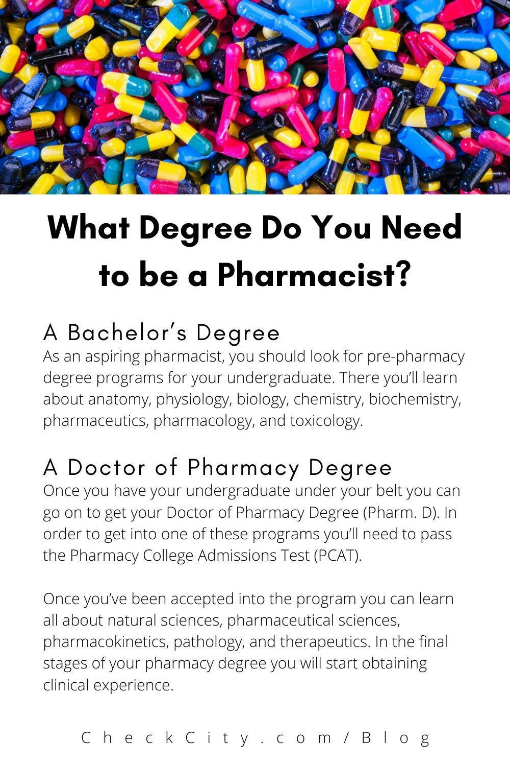 What Degree Do You Need To Be A Pharmacist Pharmacist Becoming A Pharmacist Doctor Of Pharmacy