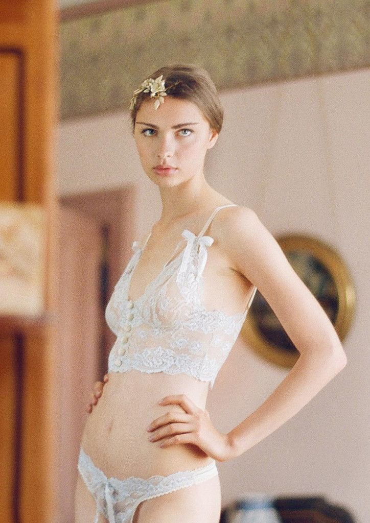94bf785e2 Lingerie sexy Claire Pettibone para noivas