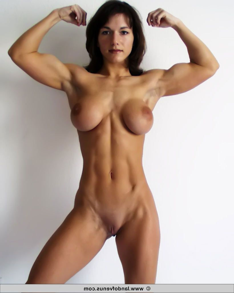 nude russian girl muscles