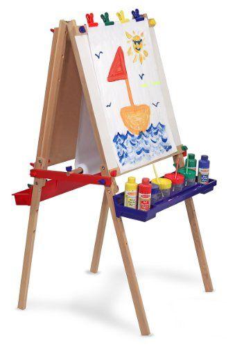 we love the melissa doug easel 5 year old girls gifts and toys kids art easel art easel. Black Bedroom Furniture Sets. Home Design Ideas