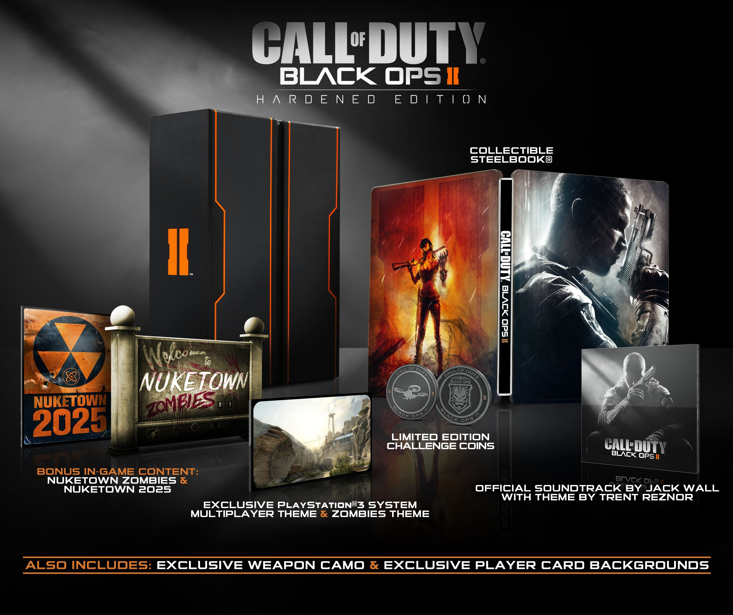 Call Of Duty Black Ops Ii Exclusive Care Package Hardened