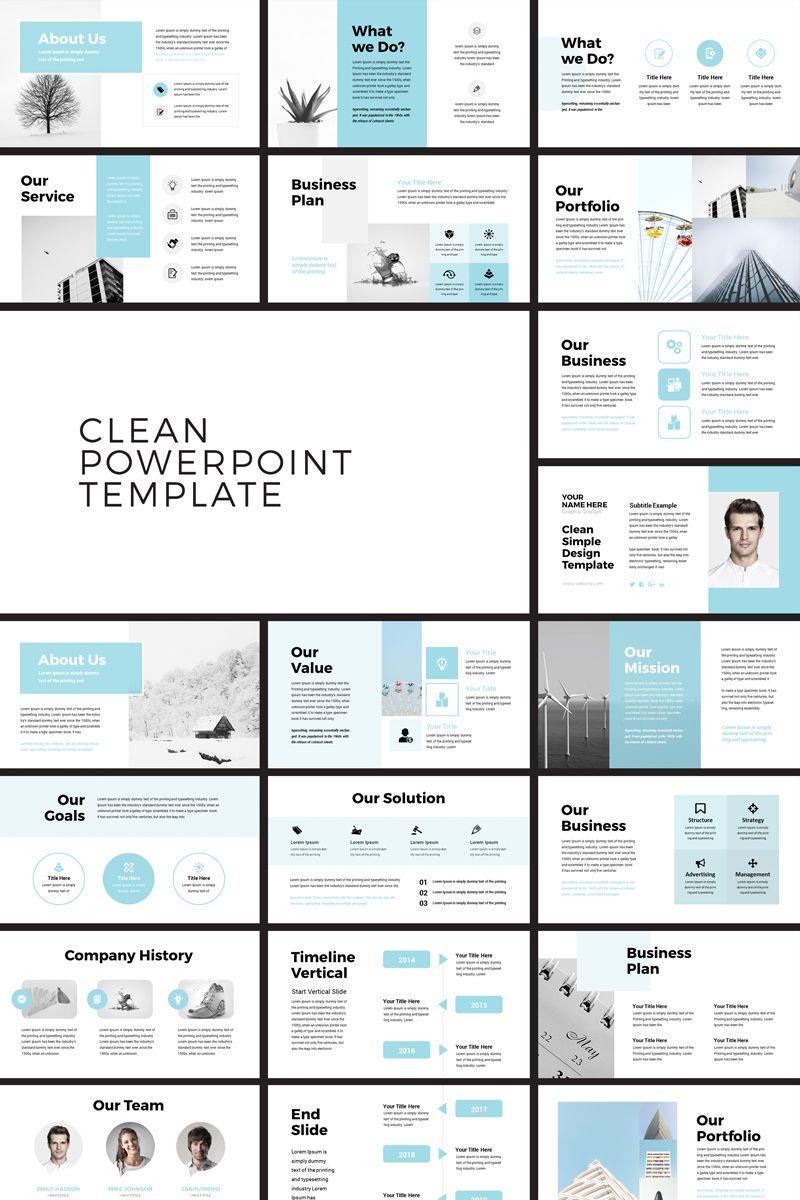 Pehela - Clean Minimal PowerPoint Template #79711