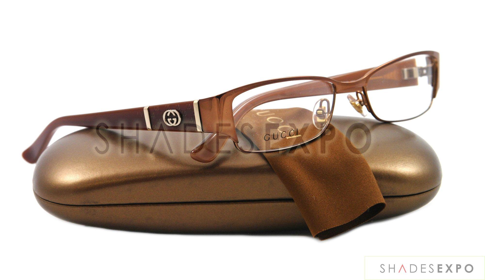 27121e3c4cb NEW Gucci Eyeglasses GG 2910 CARAMEL MI2 GG2910 52MM AUTH