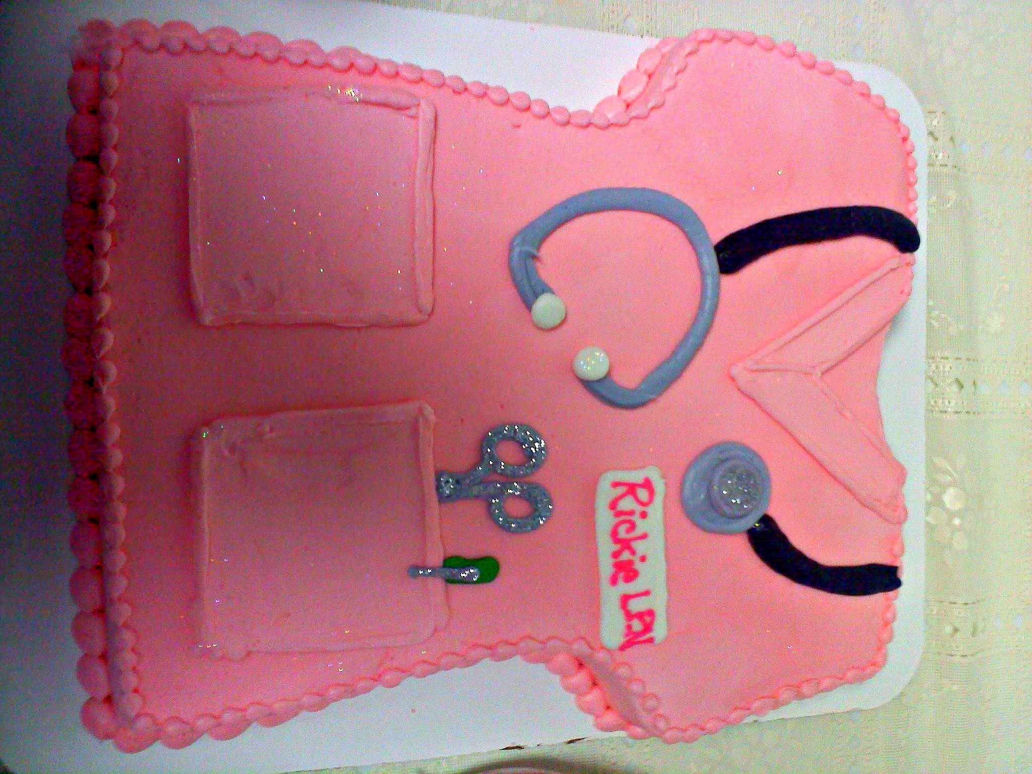 My Nursing Graduation Cake