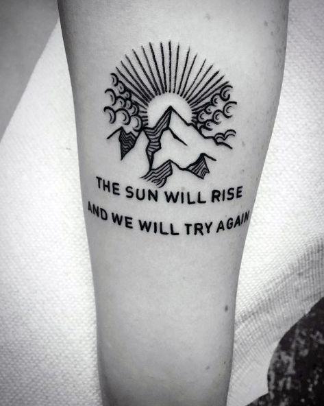 Photo of Top 47 Minimalist Mountain Tattoo Ideas [2020 Inspiration Guide]