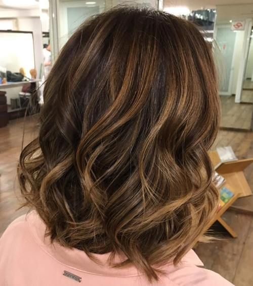 81 Most Delectable Caramel Highlights On Brown And Dark Brown Hair Brown Hair With Highlights Hair Highlights Hair Styles