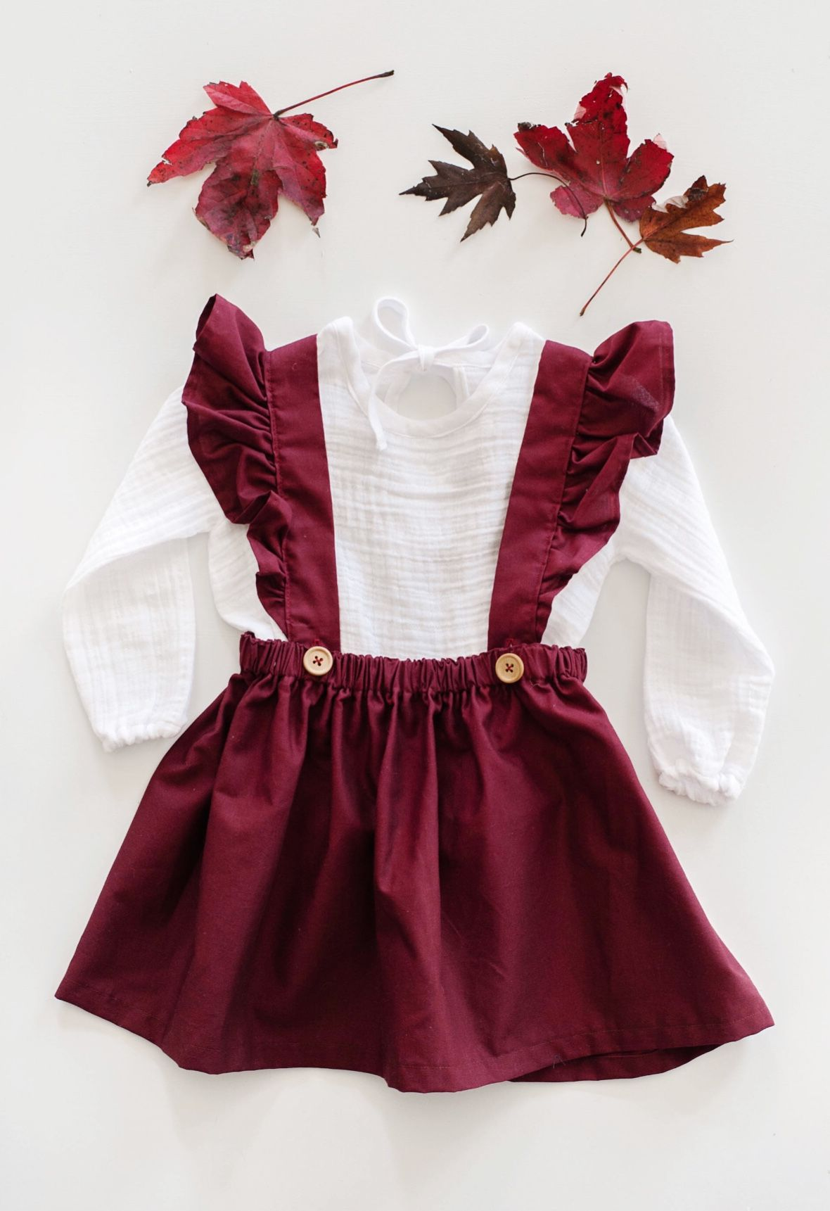 Beautiful Handmade Cotton Pinafore Dress