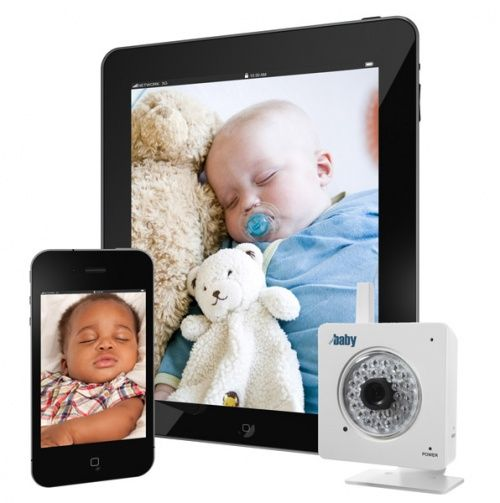 wifi video baby monitor for iphone ipad android baby health and safety products. Black Bedroom Furniture Sets. Home Design Ideas