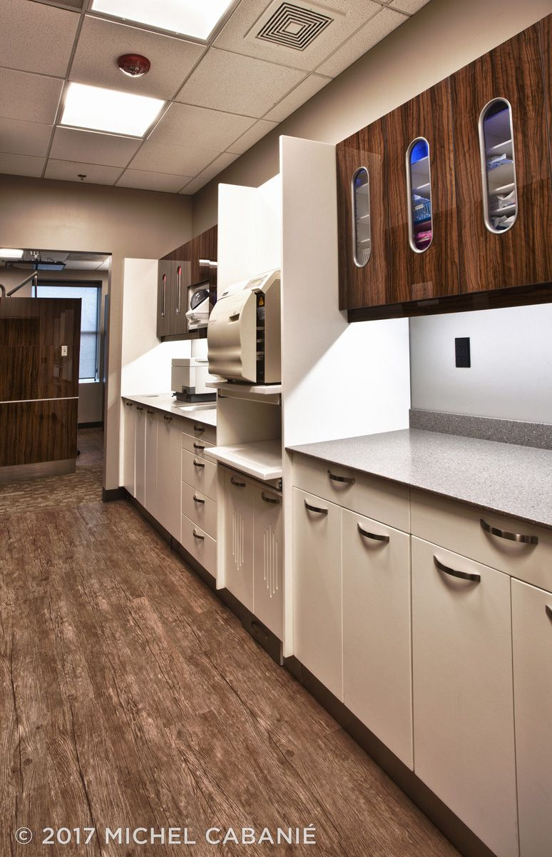 """Pin by M&CC Modular & Custom Cabinets on """"The Dentists at ..."""