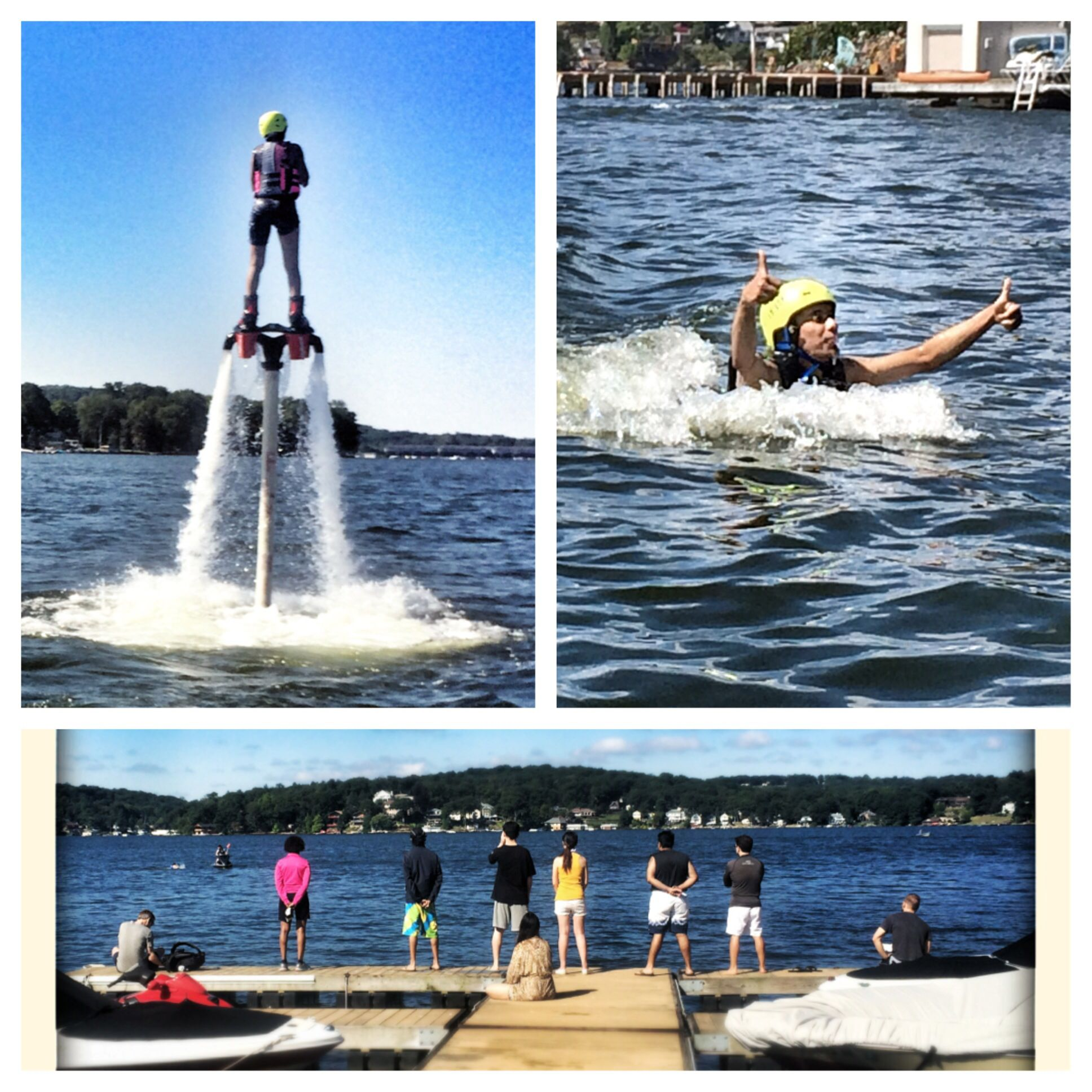 Plan A Flyboard Party At The Jefferson House On Lake Hopatcong They