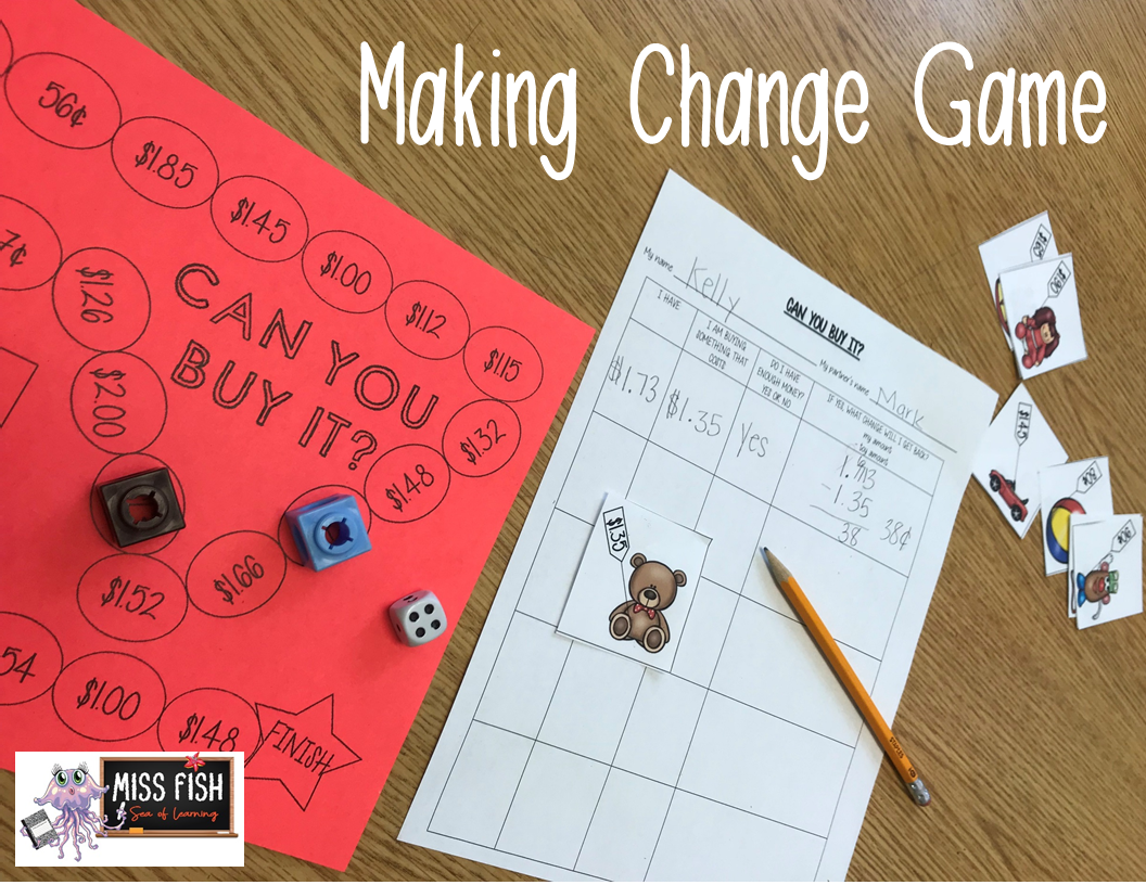 Making Change Money Game Can You Buy It