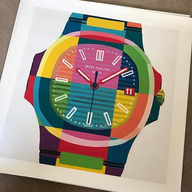Repost Patek Philippe 5711 Pop Art Print Available From Www