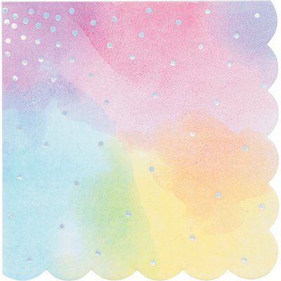 """The Holiday Aisle® Mcintosh Party 6.5"""" Paper Disposable Napkins 