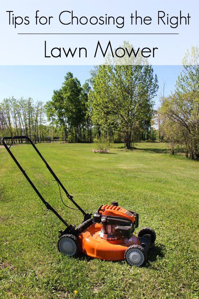 Picking The Perfect Push Mower Lawn Mower Push Lawn Mower Riding Mower