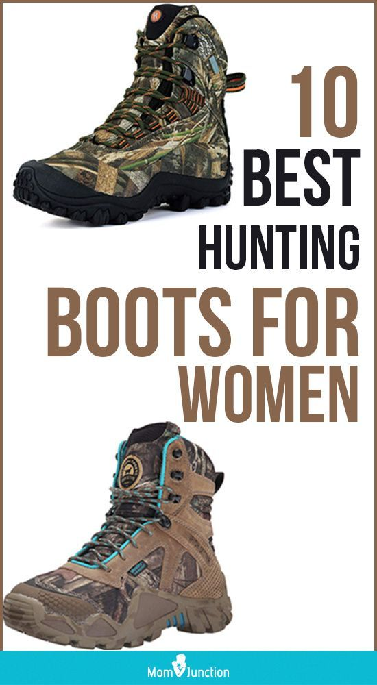 Women's hunting boots were unheard of a few decades ago. The choice and variety of this category of boots for women have improved off late, but few brands offer them in their retail outlets. On the bright side, several online stores are offering a wide range of hunting boots for women now.