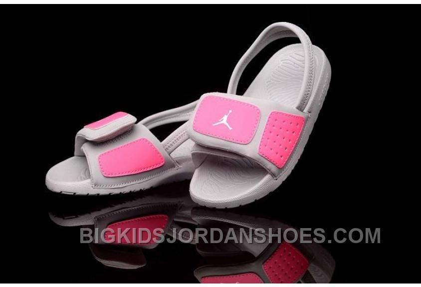 b111781d39f5b3 http   www.bigkidsjordanshoes.com hot-2015-latest-. Grey SlippersPink  GreyGrayKids Flip FlopsNike ...