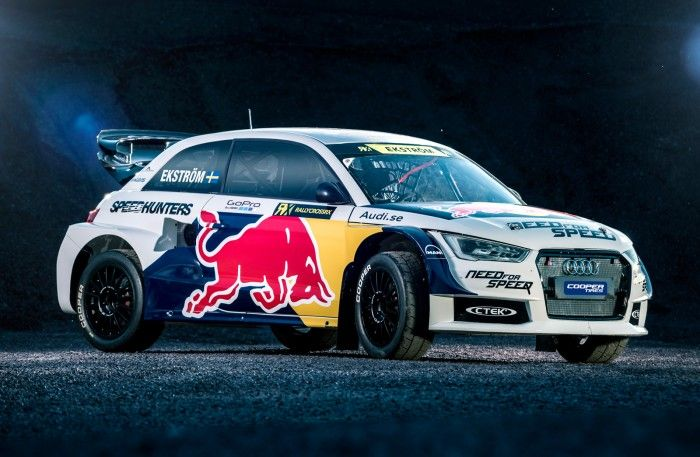 Mattias Ekstroms Team Klart For Rallycross Vm Audi Rally Car