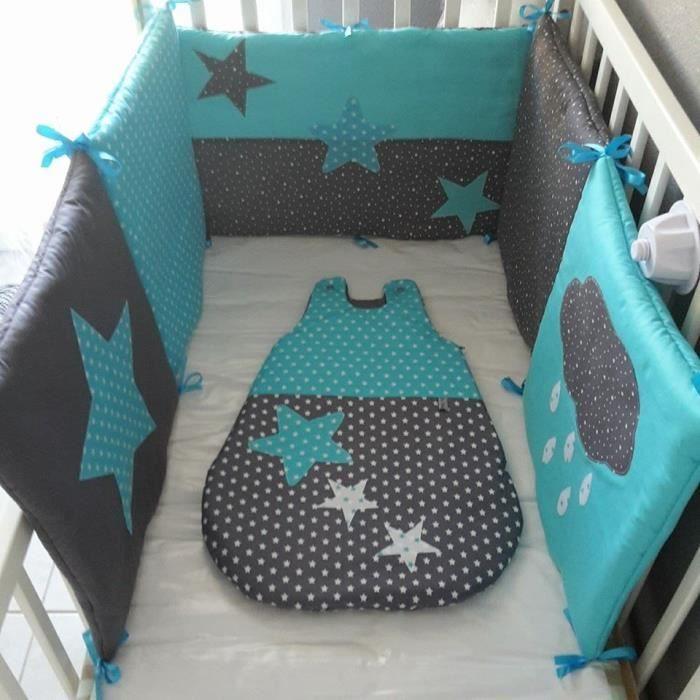 tour de lit b b fait maison recherche google couture pinterest tour de lit b b bebe. Black Bedroom Furniture Sets. Home Design Ideas