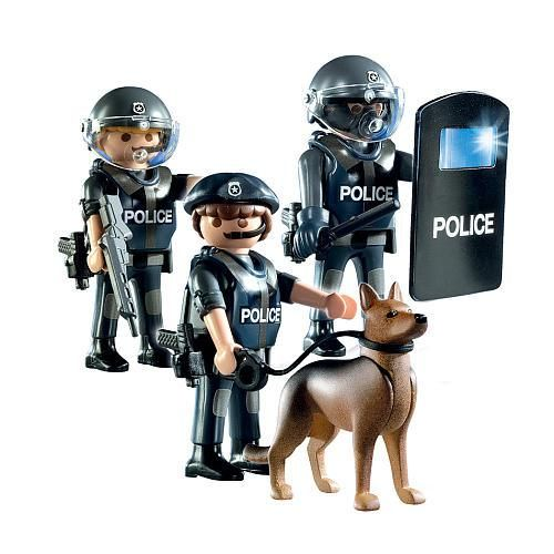 Hey Kids Let S Play Militarized Police Force Playmobil Star
