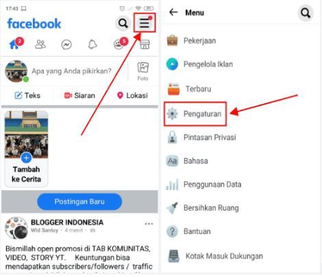 Cara Menghapus Semua Postingan Di Facebook Lite