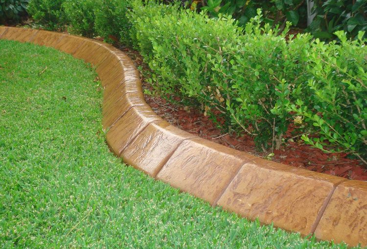 43 Best Lawn Edging Ideas 2020 Guide Concrete Garden Edging Garden Edging Ideas Australia Concrete Garden
